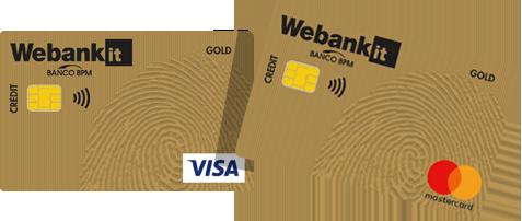 Carte di credito di debito e prepagate webank for Carta di credito per minorenni